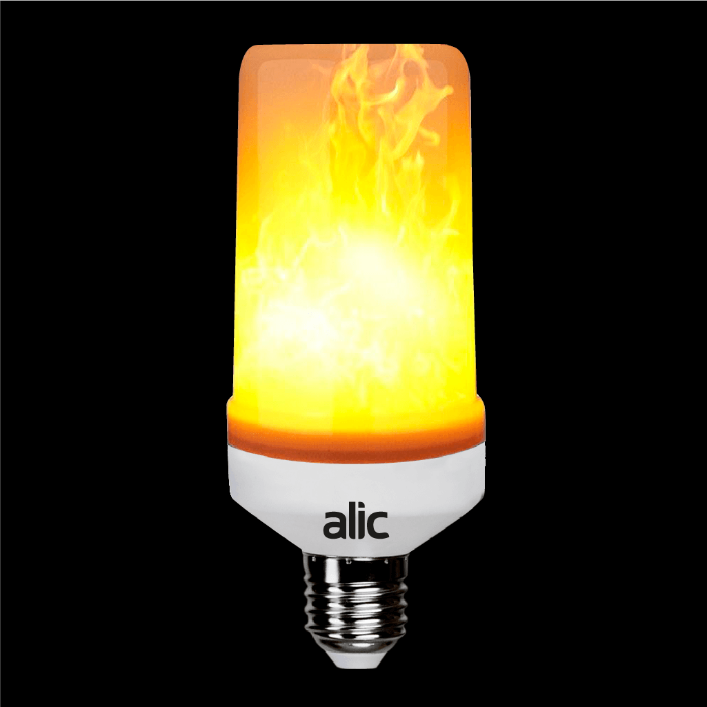 SA Calida 6W LED Flame Alic Luz E27 ECO Lampara – 1JlKFc